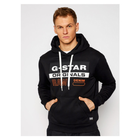 G-Star Raw Bluza Ashor D18239-A971-6484 Czarny Regular Fit