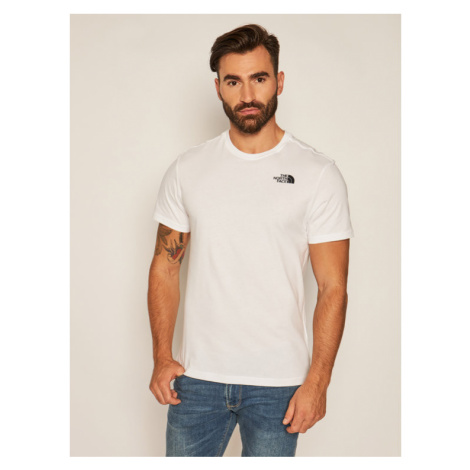 The North Face T-Shirt Ss Redbox Cel Tee NF0A2ZXEVW61 Biały Regular Fit