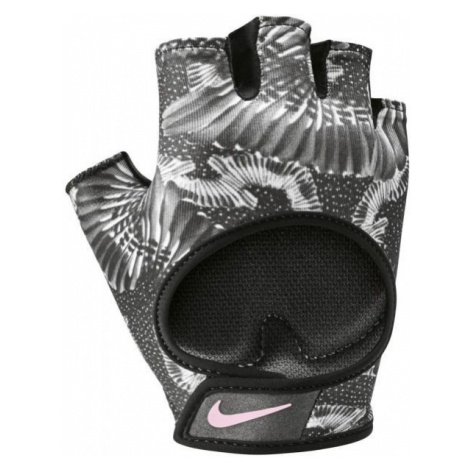 Nike GYM ULTIMATE FITNESS GLOVES szary S - Rękawice fitness damskie