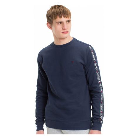 Tommy Hilfiger niebieska bluza męska Track Top LS HWK