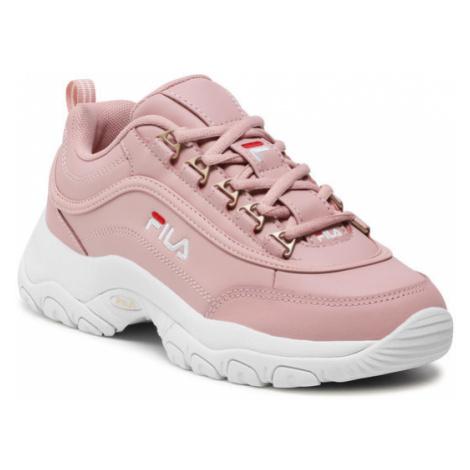 Fila Sneakersy Strada Low Wmn 1010560.70C Różowy