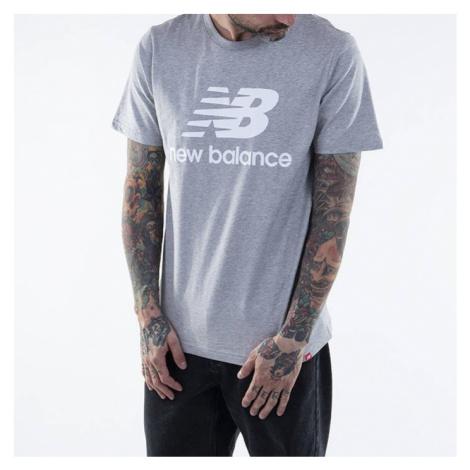 Koszulka New Balance Essentials Stacked Logo T MT01575AG