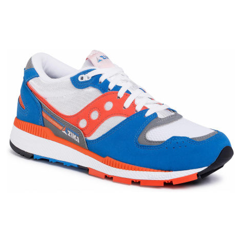 Sneakersy SAUCONY - Azura S70437-36 Grey/Orange/Blue