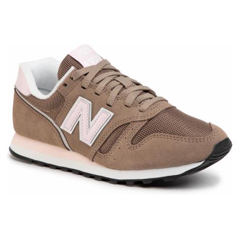 Sneakersy NEW BALANCE - WL373BB2 Brązowy