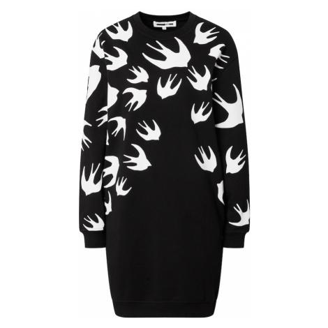 McQ Alexander McQueen Sukienka czarny / biały