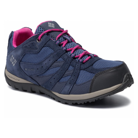 Trekkingi COLUMBIA - Youth Redmond Waterproof BY2857 Bluebell/Pink 508