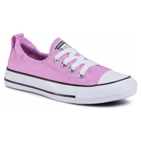 Trampki CONVERSE - Ctas Shoreline Slip 567023C Peony Pink/Multi/White
