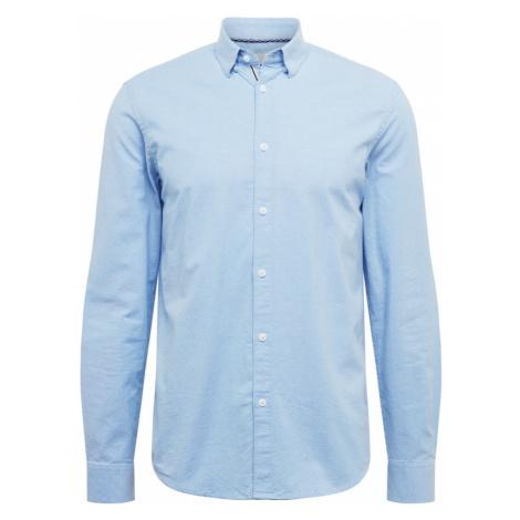 !Solid Koszula jasnoniebieski