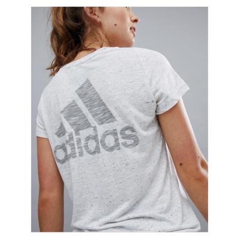 Adidas Winners Tee In White