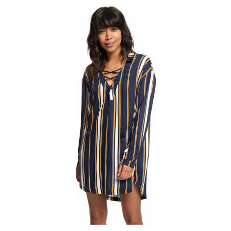 sukienka Roxy Lonely For You 2 - BTE3/Medieval Blue Macy Stripe Swim