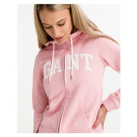 Gant Arch Logo Bluza Różowy