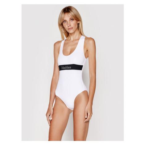 Max Mara Beachwear Strój kąpielowy Domino 38311718 Biały