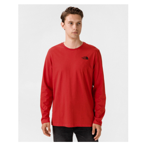 The North Face Easy Koszulka Czerwony
