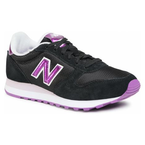Sneakersy NEW BALANCE - WL311BNA Czarny