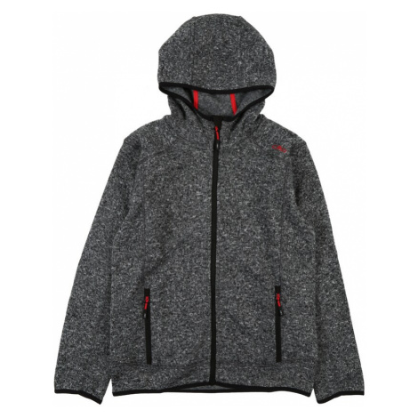 CMP Sportowa bluza rozpinana czerwony / czarny