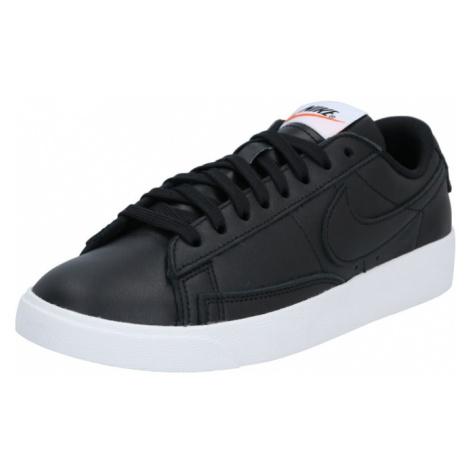 Nike Sportswear Trampki niskie jasnobrązowy / czarny / biały