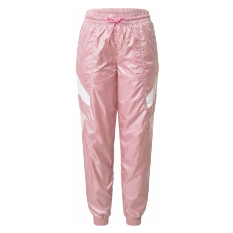 PUMA Spodnie różowy pudrowy / biały