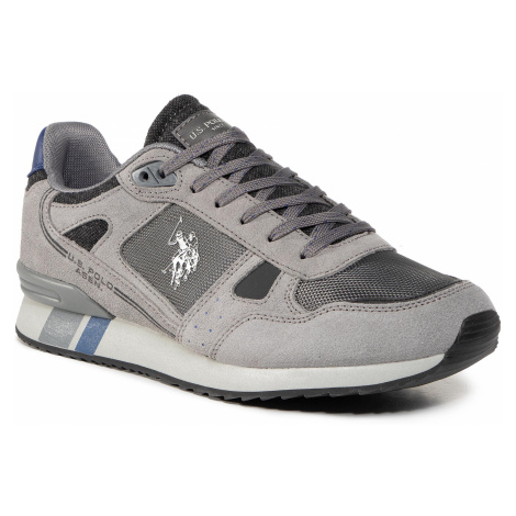 Sneakersy U.S. POLO ASSN. - Milde 4 Suede ERRY4083W8/ST3 Ash