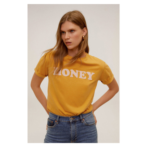 Mango - T-shirt Honey