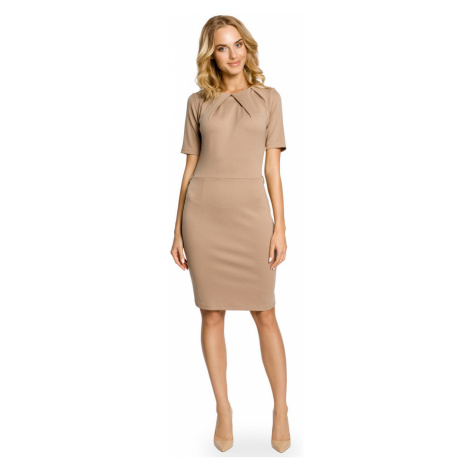 Made Of Emotion Woman's Dress M013 Cappuccino