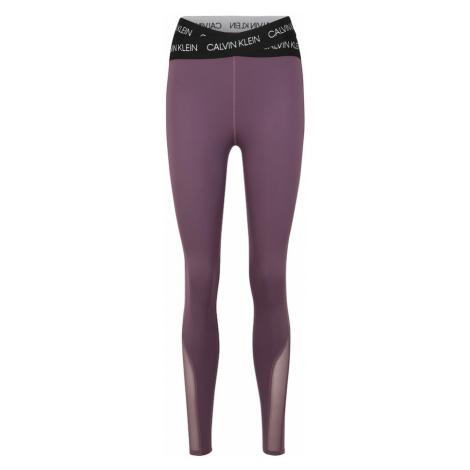 Calvin Klein Performance Spodnie sportowe fioletowy
