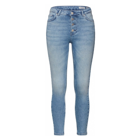 Review Jeansy 'SKINNY BLU BUTN' niebieski denim