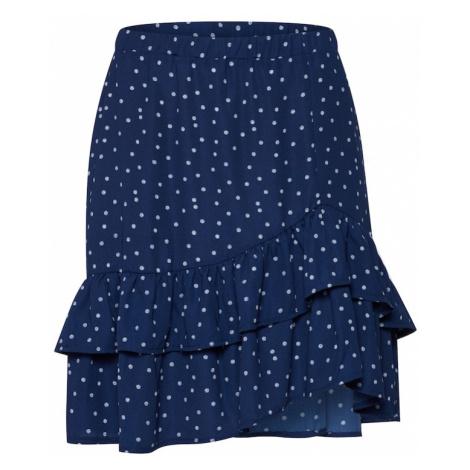 SISTERS POINT Spódnica granatowy / jasnoniebieski