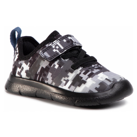 Sneakersy CLARKS - Ath Flux T 261460207 Black Camo