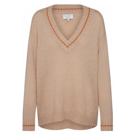 NÜMPH Sweter 'Numette' beżowy Nümph