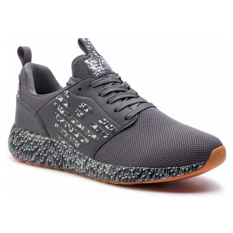Sneakersy EA7 EMPORIO ARMANI - X8X023 XK052 A089 Grey/Antracite