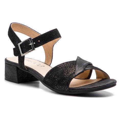 Sandały CAPRICE - 9-28203-22 Black Comb 019