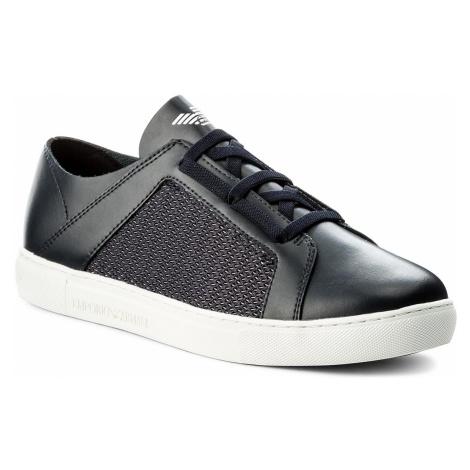 Sneakersy EMPORIO ARMANI - X4C472 XL205 A012 Sky Multicolor