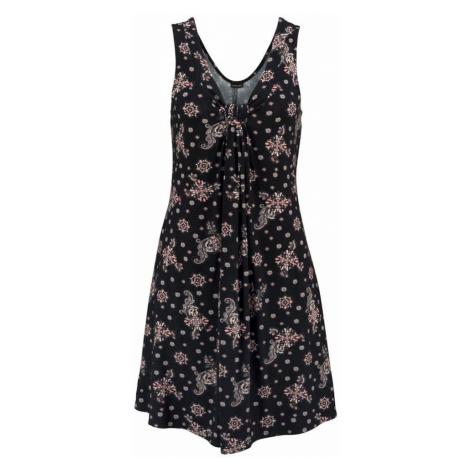 LASCANA Sukienka plażowa stary róż / czarny
