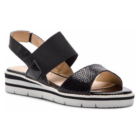 Sandały CAPRICE - 9-28202-22 Black Comb 019