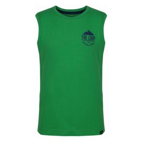 Loap IKRUSO zielony 122-128 - Koszulka dziecięca