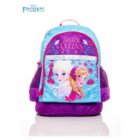 Plecak szkolny dla dziewczynki z motywem z bajki FROZEN