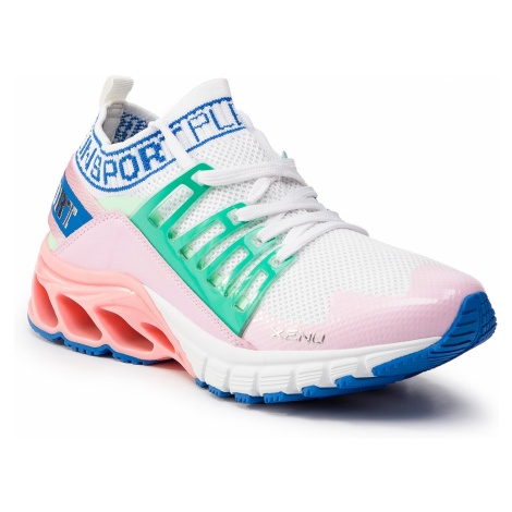 Sneakersy PLEIN SPORT - Runner Original P19S WSC1292 STE003N Rose/Pink 03