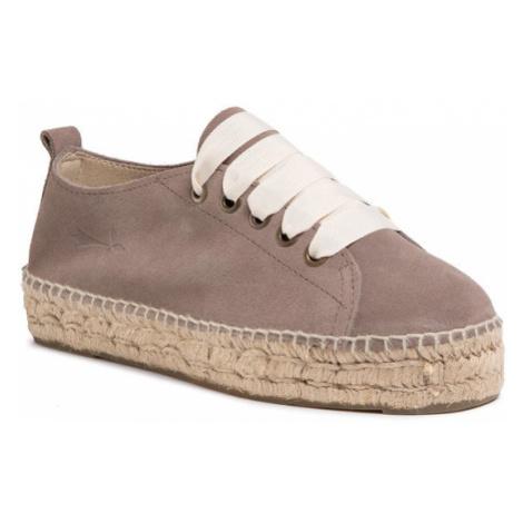 Manebi Espadryle Sneakers D K 1.9 E0 Brązowy