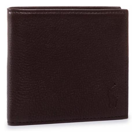 Polo Ralph Lauren Duży Portfel Męski Ongoing 405526127001 Brązowy