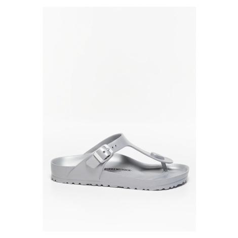 Klapki Birkenstock Gizeh Eva Metallic 1003496 Silver