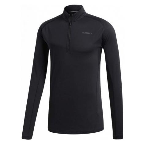 adidas TRACE ROCKER 1/2 LS czarny 50 - Koszulka sportowa męska