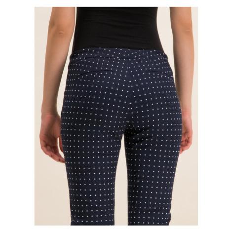 Lauren Ralph Lauren Spodnie materiałowe 200772823 Granatowy Regular Fit
