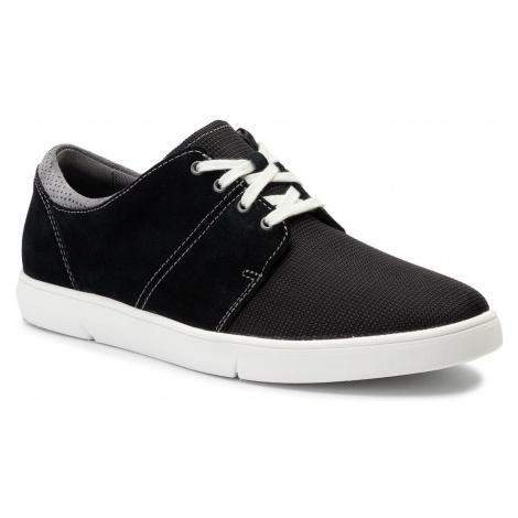 Sneakersy CLARKS - Landry Edge 261398547 Black Combi Sde