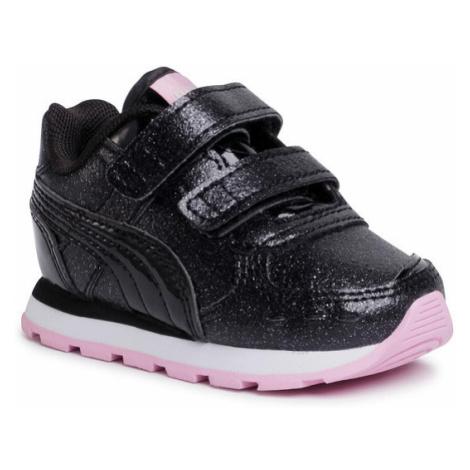 Puma Sneakersy Vista Glitz V Inf 369721 10 Czarny