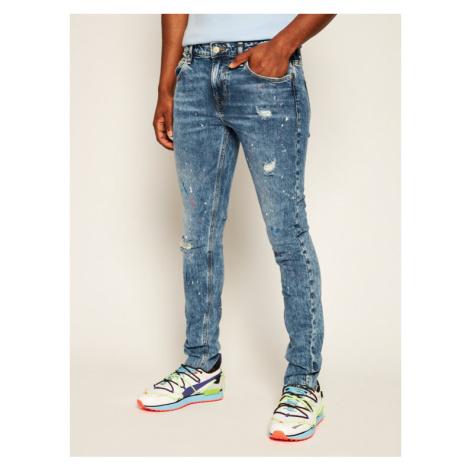 Guess Jeansy Skinny Fit Chris M0YA27 D44F1 Niebieski Skinny Fit