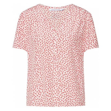 Calvin Klein Jeans Koszulka czerwony / biały