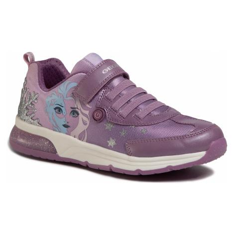 Sneakersy GEOX - J Spaceclub G.D J028VD 011AJ CE8Q8 DD Pink/Mauve