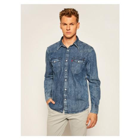 Levi's® Koszula Barstow Western Standard 85744-0012 Granatowy Standard Fit Levi´s