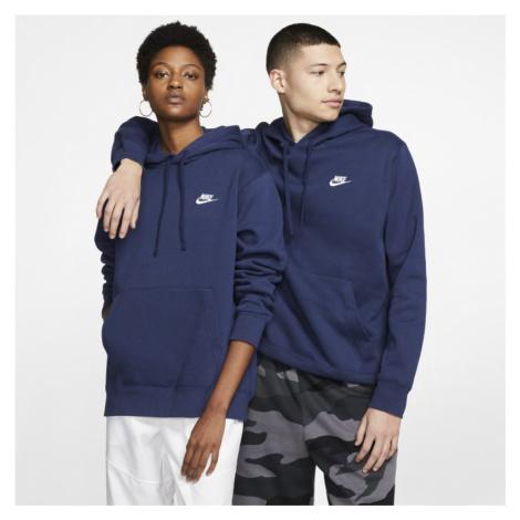 Bluza z kapturem Nike Sportswear Club Fleece - Niebieski