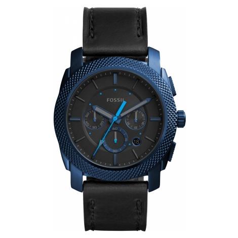 Zegarek FOSSIL - Machine FS5361 Black/Blue